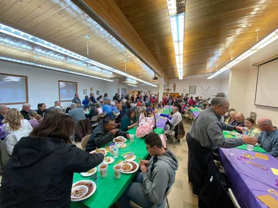 Mardi Gras Liturgy Minister's Dinner 2019